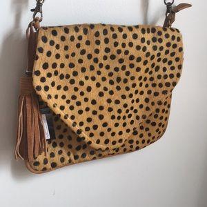 Handbags - Pony hair & Suede Crossbody Purse